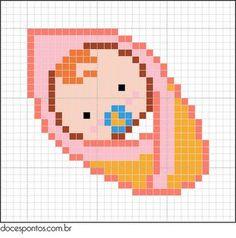 Kolye için Nakış Örnekleri 105 - Mimuu.com Cute Cross Stitch, Beaded Cross Stitch, Cross Stitch Designs, Cross Stitch Boards, Cross Stitch Patterns, Cross Stitch Embroidery, Beading Patterns, Fuse Bead Patterns, Broderie Simple