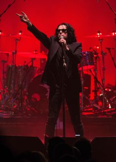 (Ian Astbury of the Cult performs at London's O2 Academy Brixton in February 2016. Photo by Nick Pickles/Redferns)