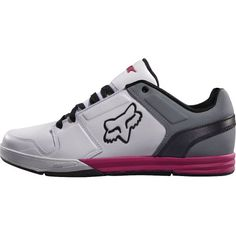 Fox #Racing Newstart Lux Men's Shoes Casual Footwear - White/Grey/Pink / Size 12