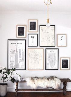 Paint it, Gold: Color Scheme: Black, White, & Neutrals