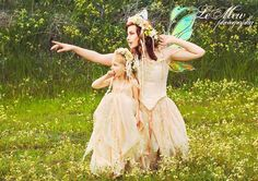 Fairy mother and daughter photo shoot <3