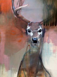 Abstract Animals, Abstract Art, Deer Art, Animal Paintings, Oil Paintings, Figurative Art, Fine Art Photography, Sculpture Art, Illustration Art