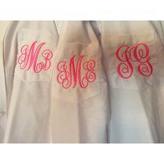 Ladies Monogrammed Blouses 85