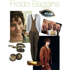 Designer Clothes, Shoes & Bags for Women Hobbit Costume, Frodo Baggins, Nerd Fashion, Casual Cosplay, Themed Outfits, One Ring, The Hobbit, Tv Shows, Lord