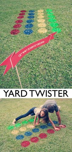 32 of the BEST DIY backyard games to play!