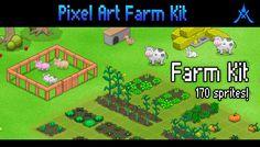 Pixel Art Farm Kit