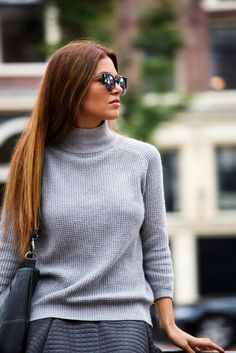 Sophisticated yet Comfortable | Negin Mirsalehi #fall #winter #style
