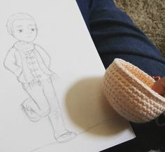 Next up...Timothy! Another character from my Middle Grade Fantasy book Adeline and the Mystic Berries. Looking forward to making his little knitted scarf!  #amigurumi #crochetdoll #crochet #diy #handmade #patternmaking #patterns #crocheting #artist #fiberart #book #knitting by jhwinterauthor