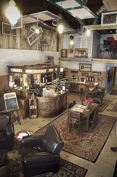 Dosey Doe Coffee Shop - Conroe, TX  love the theme/ idea...crafty with some vintage