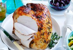 Let's talk turkey... served hot or cold, it has an amazing glaze and the sauce is the cherry on top!