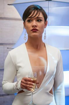 Pin for Later: Where You've Seen the Empire Cast Before Grace Gealey as Anika Serie Empire, Empire Cast, Grace Gealey, Natural Hair Styles, Short Hair Styles, Empire Season, Empire State Of Mind, Cutout Dress, Before Us