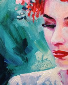 """Иногда очень хочется чувственности и нежности, мягкости, лиричности. Я люблю цвет, люблю с ним работать, люблю женские романтичные образы, люблю фактуры, цветы, и узоры. Все это можно найти в моих картинах.! ✨🌙 """"Камила в орхидеях"""" масло холст на подрамнике 24х30 продаётся🌺 #fraangelickaart #живопись #картина #искусство #картинамаслом #маслянаяживопись #картинавинтерьер #интерьернаякартина #дизайнинтерьеров #дизайн #интерьер #искусство"""