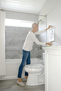 Kids Guest Bathroom Update On A Budget Guest Bath Budgeting And - Bathroom updates on a budget