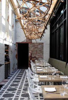LAbattoir Vancouver  Interiors    Restaurant Bar