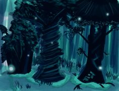 Blue Forest Game | School for Good and Evil
