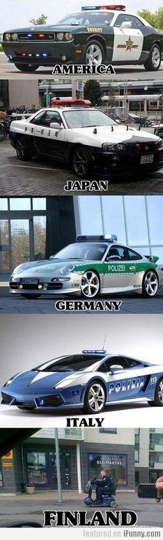 Cops In Finland