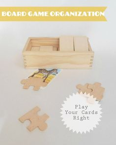 Great tips for keeping our beloved, but oh so difficult to store, board games organized…