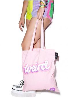 Lazy Oaf Weirdo Tote Bag... handbag bag totebag accessories Lazy Oaf 27b46130e2a04