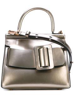 BOYY Buckle Tote Bag. #boyy #bags #hand bags #suede #tote #metallic #