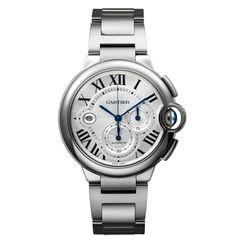Ballon Bleu de Cartier chronograph watch, extra-large model