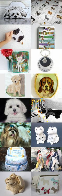 A Dog's Life by Margie on Etsy--Pinned+with+TreasuryPin.com