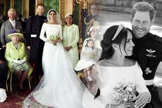 Royal Wedding: First official pictures of Meghan Markle and Harry REVEALED   Daily Star