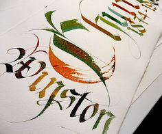 GEMMA BLACK CALLIGRAPHER