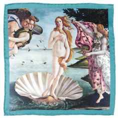 Sandro Botticelli : The Birth of Venus Canvas Print. Sandro Botticelli : The Birth of Venus Canvas Print-Klaar om op te hangen! Sandro, Caravaggio, Birth Of Venus Botticelli, Galerie Des Offices, Venus Painting, Aphrodite Painting, Renaissance Kunst, Italian Renaissance Art, Renaissance Artists