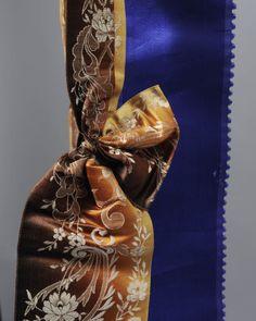 kaphoed met verschillend gekleurde linten, Walcheren #Zeeland #Walcheren