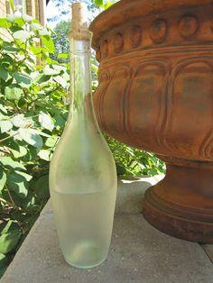 pretty water bottle