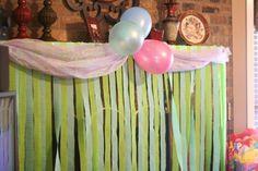 Under the sea / little mermaid birthday party ideas