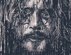 "Portrait of Soundgarden frontman Chris Cornell added to my @Behance portfolio: ""Chris Cornell"" http://be.net/gallery/60070737/Chris-Cornell"