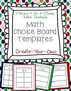 Making It As A Middle School Teacher: Scrabble Math & A Freebie!