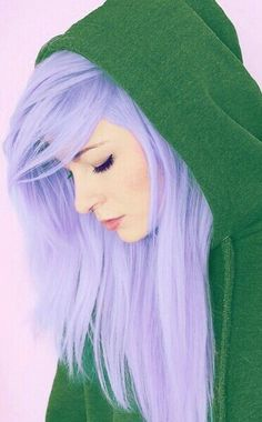 ~ I'm getting this color (Lavender) hair with dark blue highlights! Can't wait!! ~