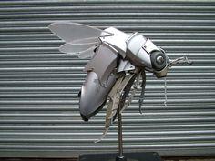 Ptolemy Elrington,  hubcap  sculptures