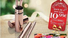 ¿No sabes qué regalar estas #Navidades? Con #Avon, regala el SET DE MINI BROCHAS BROWNSTORM