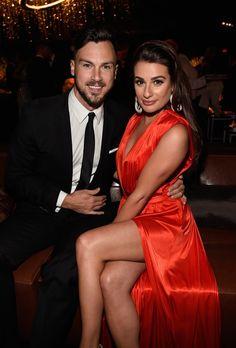 Pin for Later: Lea Michele feiert den ersten Jahrestag mit ihrem Freund Matthew Paetz