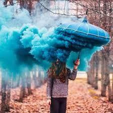 Resultado de imagen para fotos con humo de colores