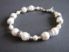 Swarovski Pearl Bracelet £8.00 by Lillibets