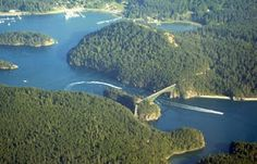 Deception Pass, Puget Sound, Washington State