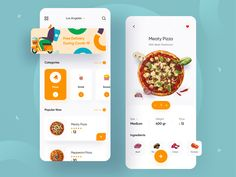 Food Delivery App 🍕 by Andika Wiraputra Ux Design, Pizza Delivery App, Hotel Booking App, App Design Inspiration, Mobile App Design, Mobile Ui, Recipe Sites, Apps, Ui Ux