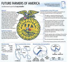 Sketchbook- Jan. 23. A close look at the Future Farmers of America. #FFA #future_farmers_of_america