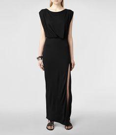 Femme Muse Dress (Black) | ALLSAINTS.com