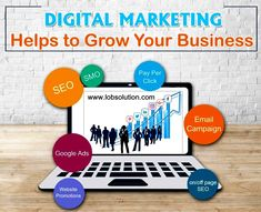 If you are ready to take your company's marketing to the next level then digital marketing helps you in business growth. Digital Marketing Business, E Commerce Business, Digital Marketing Services, Seo Services, Social Media Marketing, Business Help, Start Up Business, Growing Your Business, Email Campaign