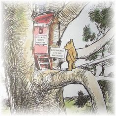 The original A.A. Milne Winnie the Pooh books - I always found the stories somewhat nostalgic and wistful as I read them to my own children....
