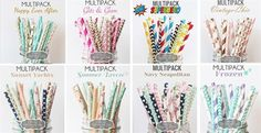 """As featured in TORI SPELLING's 'WINTER MUST-HAVES' LIST - on KARA's PARTY IDEAS and in CUPCAKE MAGThese paper straws (25 in each pack) are strong and sturdy and stand up well in liquid and are perfect for all celebrations, not only limited to drinking but can be used for cake pops, lollipops, cookie sticks, etc., and can be easily cut if you want them short :)SPECS: Length 7.75"""" approx.Outer Dia. 0.25""""Made with Food Safe Ink (FDA approved)BiodegradbleRECENT CUSTOMER REVIEWS OF MY STRAWS""""I…"""
