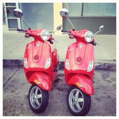 Twin scooters!