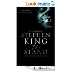 The Stand [Kindle Edition] Stephen King on Sale Today! The Stand Stephen King, Horror Books, Reading Quotes, Scary Stories, Book Lists, Book Lovers, Audio Books, Literature, Authors