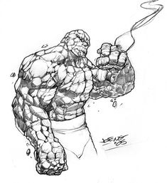 The Thing sketch by NgBoy