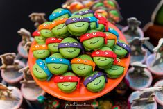Tartaruga Ninja Archives - Querida Data                                                                                                                                                                                 Mais 4th Birthday, Birthday Parties, Ninja Cake, Ninja Party, Teenage Mutant Ninja Turtles, Tmnt, Yoshi, Party Time, Birthdays